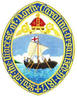 Episcopal Diocese of North Carolina - Image: Diocese of North Carolina seal