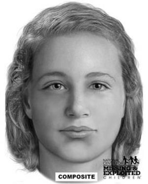 Doug Clark - Forensic facial reconstruction of Clark's unidentified victim,  found in 1980.