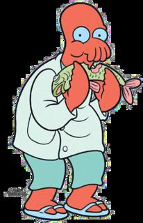 Zoidberg Futurama character