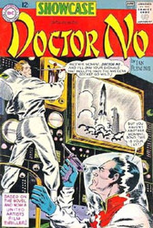 Dr. No (comics) - Doctor No, as published by DC Comics. Cover art by Bob Brown.