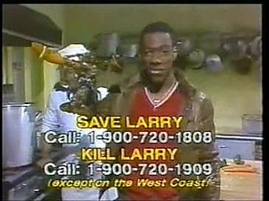 Larry the Lobster - Larry the Lobster, and the 900-numbers that could decide his fate.