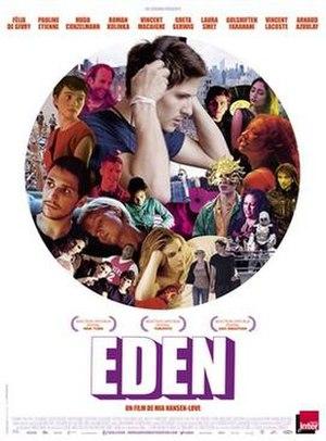 Eden (2014 French film) - Film poster