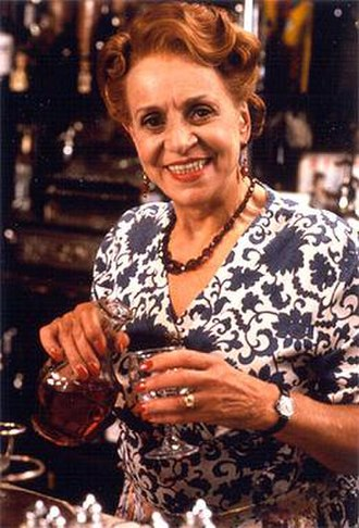 Carmen Silvera - Silvera as Edith Artois in 'Allo 'Allo!