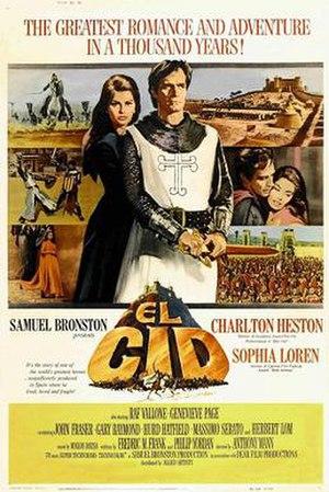 El Cid (film) - Theatrical release poster