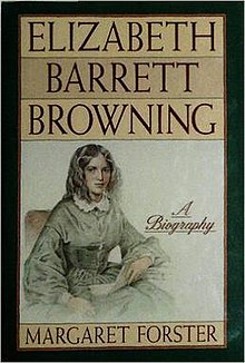 Elizabeth Barrett Browning--A Biography (Margaret Forster; 1988) cover.jpg
