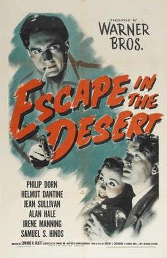 Escape in the Desert - Theatrical release poster