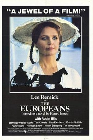 The Europeans (film) - Theatrical release poster