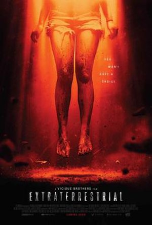Extraterrestrial (2014 film) - Theatrical release poster