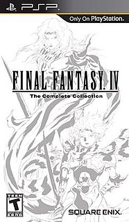 <i>Final Fantasy IV: The Complete Collection</i> video game compilation