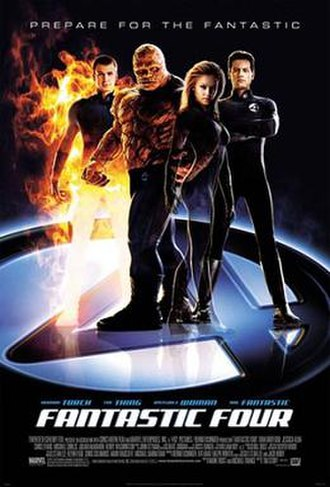 Fantastic Four (2005 film) - Theatrical release poster