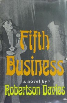 fifth business fifthbusinessnovel jpg