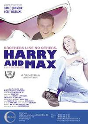 Harry + Max - Image: Flyer harry and max