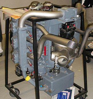 Franklin O-335 - Franklin O-335/6AC Engine.