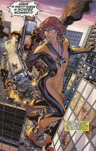 Giganta - Giganta in her One Year Later costume, which she continued to use until the New 52.