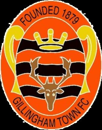 Gillingham Town F.C. - Image: Gillingham Town F.C. logo