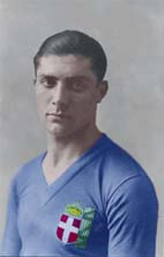 Battle of Highbury - Giuseppe Meazza scored twice in the second half for Italy