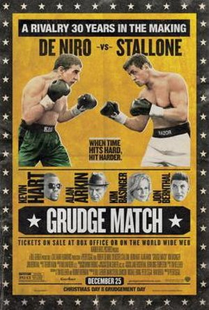 Grudge Match - Theatrical release poster