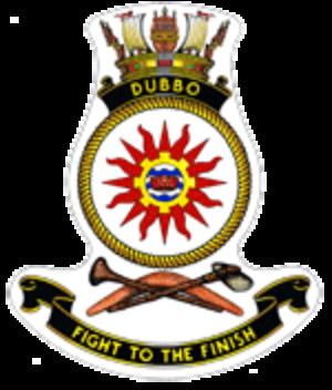 HMAS Dubbo (J251) - Image: HMAS dubbo crest