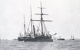 Medina-class gunboat - Image: HMS Spey (1876)