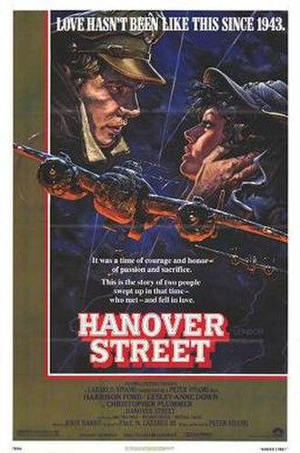 Hanover Street (film) - US film poster by John Alvin
