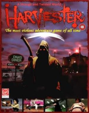 Harvester (video game) - Image: Harvester cover