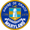 Official seal of Havre de Grace, Maryland
