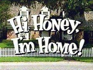 Hi Honey, I'm Home! - Image: Hi Honey I'm Home (logo)