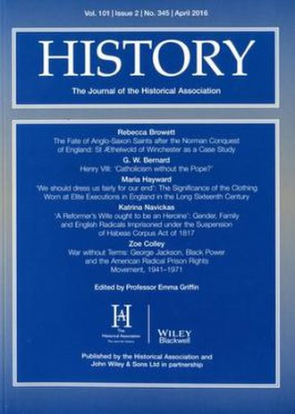 History (journal) - Image: History (journal)