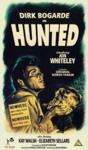 Hunted (film) - Hunted VHS videotape cover