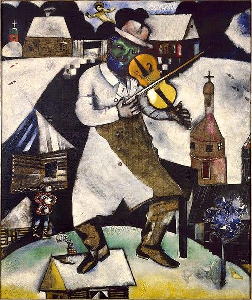 Arquivo: Fiddler.jpg Imagem-Chagall