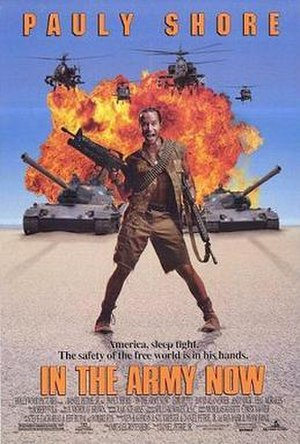 In the Army Now (film) - Theatrical release poster