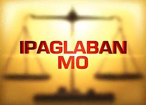 Ipaglaban Mo! - Title card of the 2014 edition