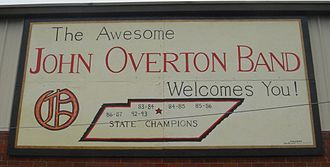 John Overton High School - The Awesome John Overton Band most recently won the 2008 state championship