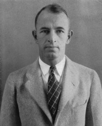 John B. Reid - Reid pictured in The Yucca 1928, North Texas State Teachers yearbook