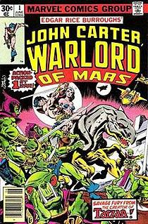 <i>John Carter, Warlord of Mars</i> comic series