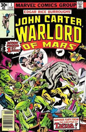 John Carter, Warlord of Mars - First issue of John Carter, Warlord of Mars