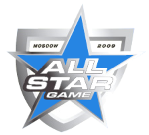 2009 Kontinental Hockey League All-Star Game - Image: KHL 2009 All Star Game Logo