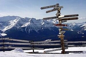 Lake Louise Ski Resort - Image: Lakelouiscanada