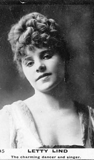 Letty Lind British actor and dancer