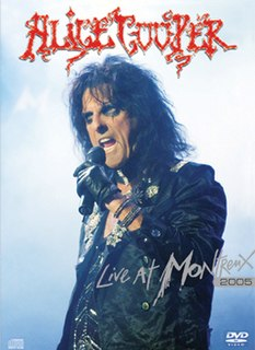 <i>Live at Montreux</i> (Alice Cooper album) 2006 live album + DVD + HD DVD by Alice Cooper