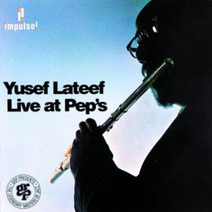 Live at Pep's - Image: Live at Pep's Yusef Lateef