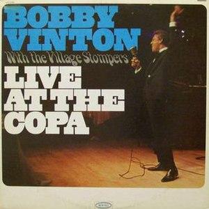 Live at the Copa (Bobby Vinton album) - Image: Live at the Copa (Bobby Vinton album)