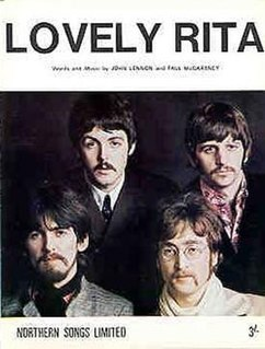 Lovely Rita original song written and composed by Lennon-McCartney