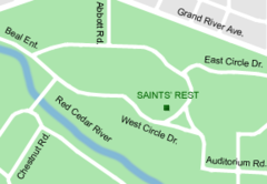 MSU Saints' Rest map.png