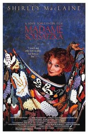 Madame Sousatzka - Theatrical release poster