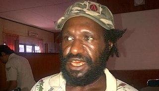 Mako Tabuni West Papua political leader