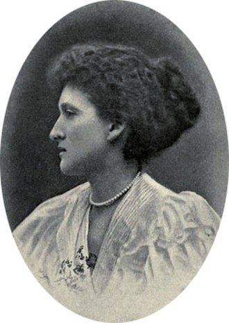 H. H. Asquith - Margot Asquith at about the time of her marriage