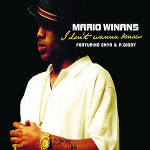 I Don't Wanna Know - Image: Mario Winans I Dont Wanna Know CD Single Cover