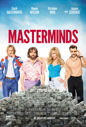 Masterminds (2016 film) - Theatrical release poster