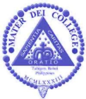 Mater Dei College - Seal of Mater Dei College